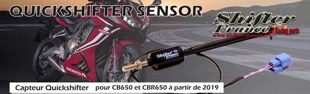 Kit shifter up plug and play Honda CB650 CB650R